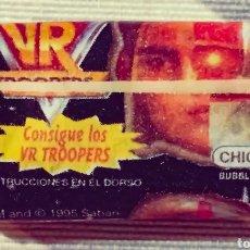 Coleccionismo Cromos antiguos: CHICLE VR TROOPERS SIN ABRIR 1995 SABAN. Lote 207339358