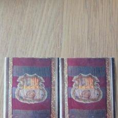 Coleccionismo Cromos antiguos: 2 CROMOS ESCUDO DEL F.C. BARCELONA. Lote 208159137