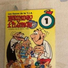 Coleccionismo Cromos antiguos: TOSTA RICA MORTADELO Y FILEMON Nº 1. Lote 209305897