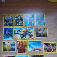 Coleccionismo Cromos antiguos: LOTE 25 CROMOS LEGO CHIMA. Lote 209923808