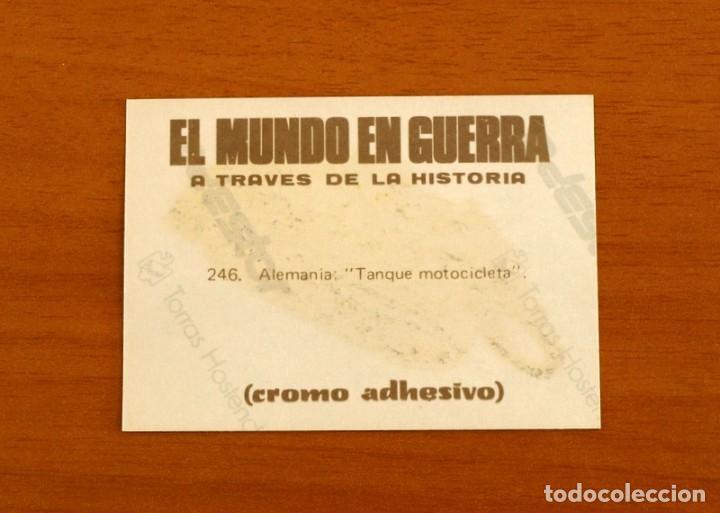 Coleccionismo Cromos antiguos: El mundo en guerra a través de la historia - Maga 1979 - nº 246 Dorado - Adhesivo Nunca pegado - Foto 2 - 210001042
