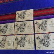 Coleccionismo Cromos antiguos: EL GRAN VIAJE A LA CIUDAD LOTE 7 SOBRE SIN ABRIR LLENO CROMO. DISTRIBUIDORA GUPUZCOANA.. Lote 210127488