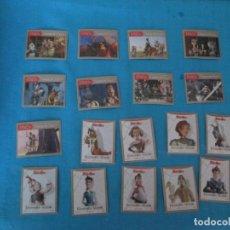 Coleccionismo Cromos antiguos: PROMOCIONALES TOSTA RICA DONKEY XOTE LOTE. Lote 210185428