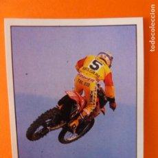 Coleccionismo Cromos antiguos: CROMO DE MOTOS JORDI ARCARONS SIN PEGAR Nº 221 AÑO 1990 DEL ÁLBUM SOLO MOTO DE PANINI. Lote 210344387