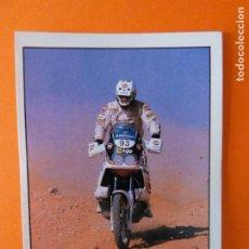Coleccionismo Cromos antiguos: CROMO DE MOTOS ERIC GEBOERS SIN PEGAR Nº 222 AÑO 1990 DEL ÁLBUM SOLO MOTO DE PANINI. Lote 210344431