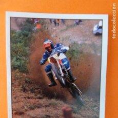 Coleccionismo Cromos antiguos: CROMO DE MOTOS HILL CLIMBING SIN PEGAR Nº 224 AÑO 1990 DEL ÁLBUM SOLO MOTO DE PANINI. Lote 210344472