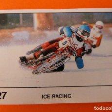 Coleccionismo Cromos antiguos: CROMO DE MOTOS ICE RACING SIN PEGAR Nº 227 AÑO 1990 DEL ÁLBUM SOLO MOTO DE PANINI. Lote 210344582