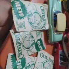 Coleccionismo Cromos antiguos: 4 SOBRES DE CROMOS SIN ABRIR CROMOJUEGO. Lote 210351843
