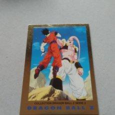 Coleccionismo Cromos antiguos: Nº 56 SON GOHAN Y SUPER BOO - CROMO CARTA DRAGON BALL Z, BOLA DE DRAGÓN SERIE 3 ORO, AÑOS 90. Lote 210351898