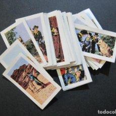 Coleccionismo Cromos antiguos: LAS AVENTURAS DE RIN TIN TIN-ADVENTURES OF RIN TIN TIN-COL· COMPLETA 48 CROMOS-VER FOTOS-(V-21.141). Lote 210591213