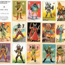 Coleccionismo Cromos antiguos: IÑI LOTE 50 CROMOS. GUERREROS DEL ESPACIO. FHER. 1983. VENDO SUELTOS. PREGUNTE FALTAS. GAMMA.. Lote 210618760