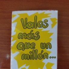 Coleccionismo Cromos antiguos: CROMO BOLLYCAO MOVI CARDS VALES MAS QUE UN MILLON..... Lote 210759947