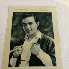 Coleccionismo Cromos antiguos: CROMO PUBLICIDAD CHOCOLATE JUNCOSA DEL ACTOR ANTONIO MORENO. Lote 210956005