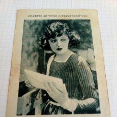 Coleccionismo Cromos antiguos: CROMO PUBLICIDAD CHOCOLATE JUNCOSA DE LA ACTRIZ CAROLINA. Lote 210956190