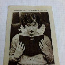 Coleccionismo Cromos antiguos: CROMO PUBLICIDAD CHOCOLATE JUNCOSA TEMA CINE DE LA ACTRIZ. Lote 210956391