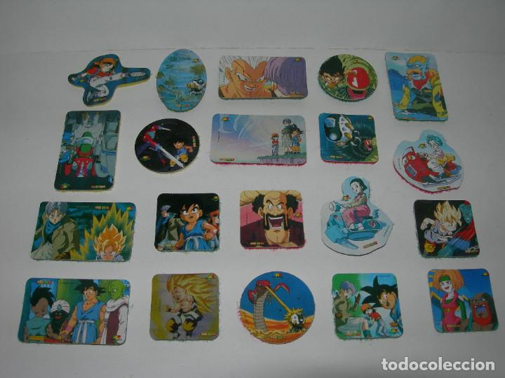 LOTE DE 20 PICKERS / CROMOS DIFERENTES DRAGON BALL GT - BOLA DE DRAGON - MAGIC BOX INT. - LOTE 1 - (Coleccionismo - Cromos y Álbumes - Cromos Antiguos)