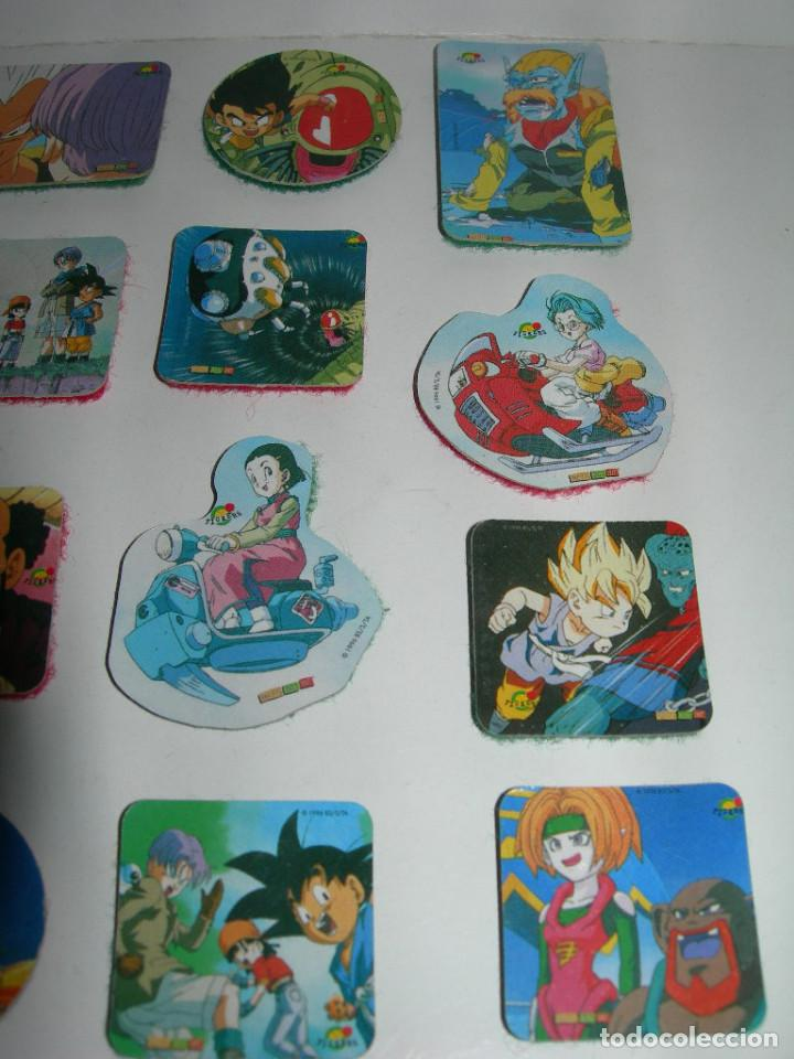 Coleccionismo Cromos antiguos: LOTE DE 20 PICKERS / CROMOS DIFERENTES DRAGON BALL GT - BOLA DE DRAGON - MAGIC BOX INT. - LOTE 1 - - Foto 4 - 211619070