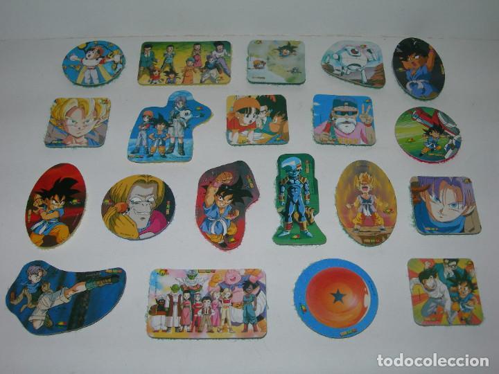LOTE DE 20 PICKERS / CROMOS DIFERENTES DRAGON BALL GT - BOLA DE DRAGON - MAGIC BOX INT. - LOTE 3 - (Coleccionismo - Cromos y Álbumes - Cromos Antiguos)