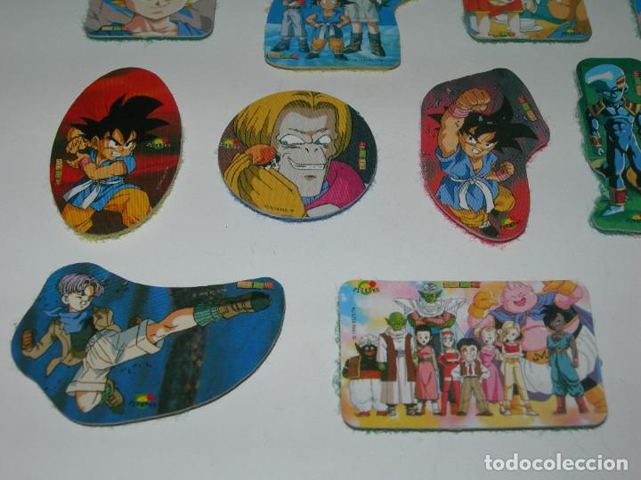 Coleccionismo Cromos antiguos: LOTE DE 20 PICKERS / CROMOS DIFERENTES DRAGON BALL GT - BOLA DE DRAGON - MAGIC BOX INT. - LOTE 3 - - Foto 3 - 211620302