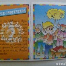 Coleccionismo Cromos antiguos: CROMO DE BIMBOCAO - COLECCION EL GRAN JUEGO DE LA OCA , DE ANTENA 3 , Nº 25. Lote 261862350