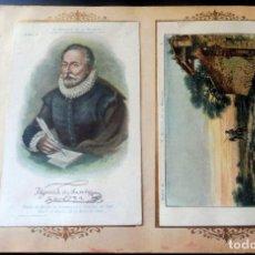 Coleccionismo Cromos antiguos: 119 CROMOS CHOCOLATE AMATLLER - AÑO 1898 -D. QUIJOTE DE LA MANCHA - J. PAHISSA - SEGUÍ - FALTA Nº 53. Lote 212805142