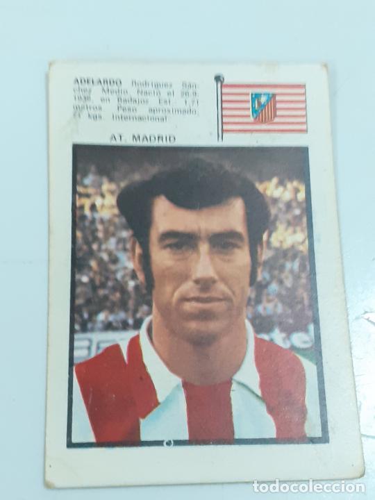 CROMO ADELARDO RODRÍGUEZ SÁNCHEZ- MEDIO -AT MADRID- SIN USAR/EDITORIAL FHER 1971 (2447) (Coleccionismo - Cromos y Álbumes - Cromos Antiguos)