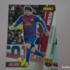 Coleccionismo Cromos antiguos: CROMO CARD DE FUTBOL MESSI DEL F.C.BARCELONA Nº 52 LIGA MEGACRACKS 2012-2013/12-13 DE PANINI. Lote 213669323