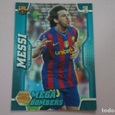 Coleccionismo Cromos antiguos: CROMO CARD DE FUTBOL MESSI DEL F.C.BARCELONA Nº 397 LIGA MEGACRACKS 2010-2011/10-11 DE PANINI. Lote 213670030