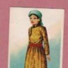 Coleccionismo Cromos antiguos: CROMO EDITORIAL MAGA COLE TRAJES TIPICOS N 65 MONGOLIA. Lote 213697510