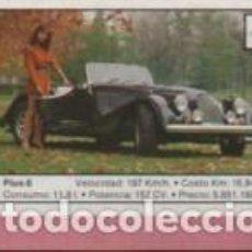 Coleccionismo Cromos antiguos: CROMO TEMA COCHES EDIT CUSCO Nº 105 COLE COCHES 89 - MORGAN PLUS 8. Lote 214076562