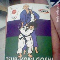 Coleccionismo Cromos antiguos: TSURI KOMI GOSHI 16 JUDO ARTES MARCIALES CROMO ADHESIVO 7 X 5 CM FEDERACION MADRILEÑA. Lote 214281802