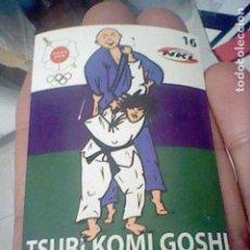 Coleccionismo Cromos antiguos: TSURI KOMI GOSHI 16 JUDO ARTES MARCIALES CROMO ADHESIVO 7 X 5 CM FEDERACION MADRILEÑA *. Lote 214281821
