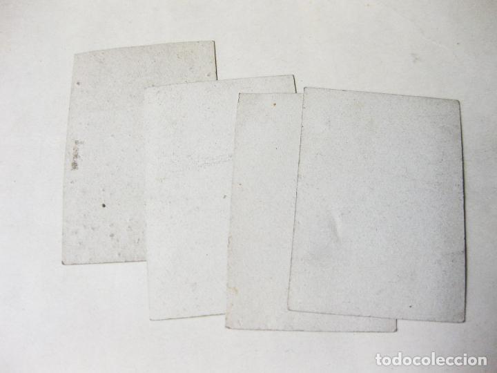 Coleccionismo Cromos antiguos: 4 CROMO FOTOGRÁFICOS DE LA SERIE 1 DE PAPEL DE FUMAR O CAJA DE CERILLAS. ACTRICES - Foto 4 - 214296488