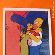 Collectionnisme Cartes à collectionner anciennes: CROMO DE THE SIMPSONS SIN PEGAR Nº 15 AÑO 1991 DEL ALBUM LOS SIMPSONS PORTADA ROSA PANINI. Lote 214987045