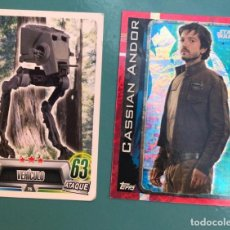Coleccionismo Cromos antiguos: CROMOS STAR WARS FORCE ATTAX TOPPS. Lote 215044600