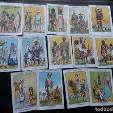 Coleccionismo Cromos antiguos: LAS RAZAS DE COLOR, A FALTA DE 13 DE 26+1 QUE COMPONEN LA SERIE. Lote 215105865