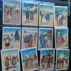 Coleccionismo Cromos antiguos: LAS RAZAS HUMANAS, SERIE COMPLETA, 12 CROMOS, GALLINA BLANCA. Lote 215107766