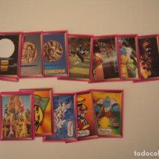 Coleccionismo Cromos antiguos: LOTE DE 14 CROMOS DE POWER RANGERS - EDICIONES ESTE 1994. Lote 215929943