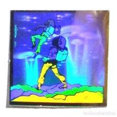 Coleccionismo Cromos antiguos: CROMO PEGATINA HOLOGRAMAS DEL ESPACIO ORIGINAL BOLLYCAO PANRICO - 1986 PROMOSTAFF - NUEVO SIN PEGAR. Lote 216379997