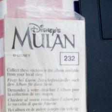 Coleccionismo Cromos antiguos: MULAN PANINI SUELTOS A ESCOGER NUEVOS. Lote 216791425
