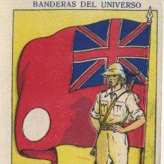Coleccionismo Cromos antiguos: CROMOS BANDERAS DEL UNIVERSO GRAN BRETAÑA (COLONIAS). Nº 20 CRVA-1922 ,6. Lote 261797655