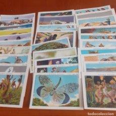 Coleccionismo Cromos antiguos: LOTE DE 30 CROMOS DE CHOCOLATES JUNCOSA. Lote 218041210