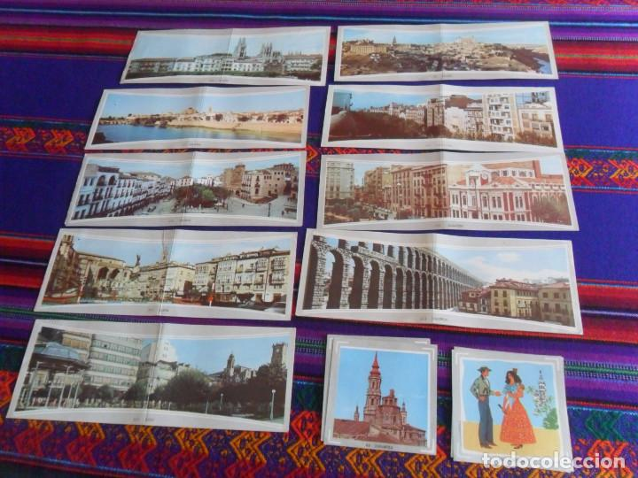 ÁLBUM DE ESPAÑA EN FOTO-CROMOS A TODO COLOR 37 CROMO NUNCA PEGADO, 3 RECUPERADOS. AMPLIADO 24-9-20. (Coleccionismo - Cromos y Álbumes - Cromos Antiguos)