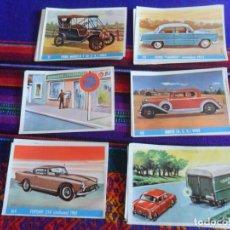Coleccionismo Cromos antiguos: LOTE 37 CROMO NUNCA PEGADO AUTO AL DÍA DE BRUGUERA 1961. TAMBIÉN SUELTOS. AMPLIADO 25-9-20.. Lote 121820215