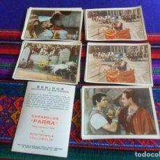Coleccionismo Cromos antiguos: LOTE 40 CROMO NUNCA PEGADO NUEVO BEN HUR BEN-HUR CARAMELOS PARRA DE VALLADOLID. 1960. RAROS.. Lote 218759608