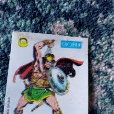 Coleccionismo Cromos antiguos: CROMO CROPÁN SUPER HÉROES NÚM 68. KULL. Lote 218784443