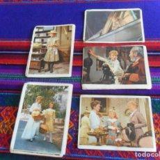 Coleccionismo Cromos antiguos: LOTE 34 CROMO NUNCA PEGADO POLLYANNA. BRUGUERA 1961. TAMBIÉN SUELTOS.. Lote 218855375
