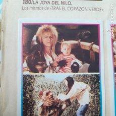Coleccionismo Cromos antiguos: SUPER STARS EDICIONES ESTE N 183 DENTRO DEL LABERINTO DAVID BOWIE. Lote 218938827