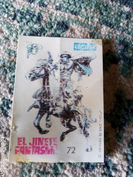 CROMO CROPÁN SUPER HÉROES NÚM 72. EL JINETE FANTASMA (Coleccionismo - Cromos y Álbumes - Cromos Antiguos)