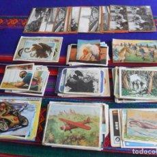 Coleccionismo Cromos antiguos: CHOLLO, CAJÓN DE SASTRE CON GRAN PRECIO CON 167 CROMOS CROMO DE TODAS LAS ÉPOCAS. ENTRA Y MIRA!!!!!. Lote 219145433
